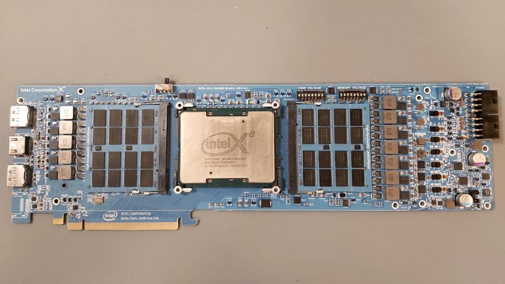 Intel Xe Eiffel 6500 PCB GPU